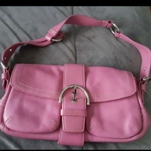 Coach bag authentic leather purse